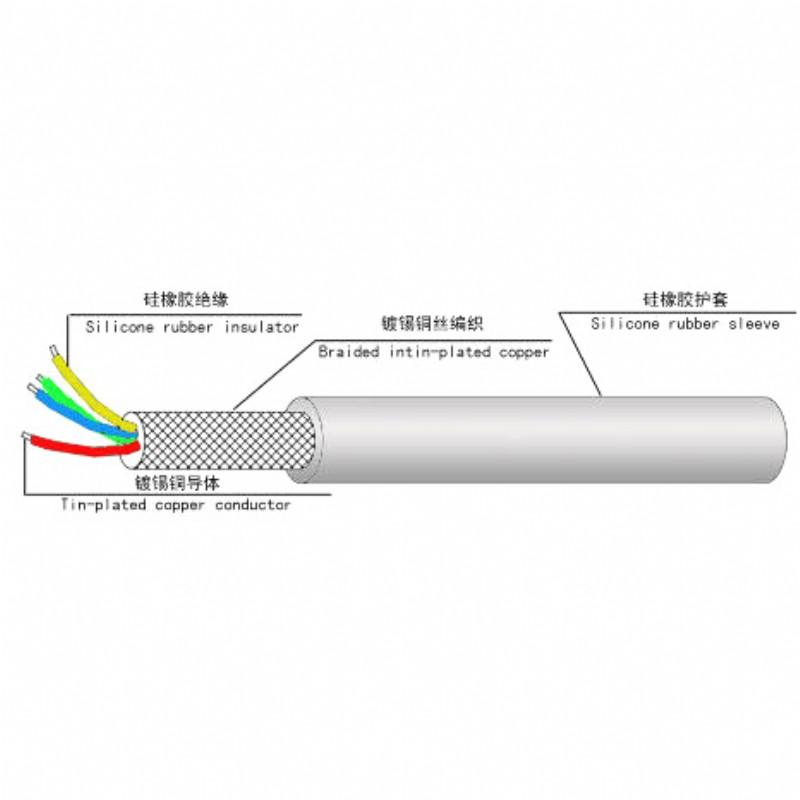 TPQE high temperature cable fluorine plastic insulation high